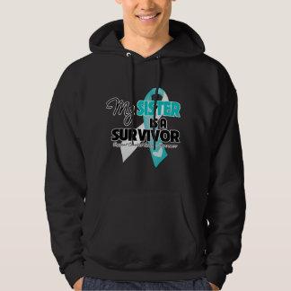 My Sister is a Survivor - Cervical Cancer Sweatshirt