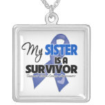 My Sister is a Survivor - Colon Cancer Custom Jewelry
