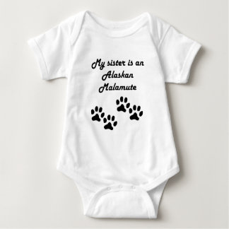 My Sister Is An Alaskan Malamute Tshirts