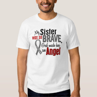 My Sister Is An Angel 1 Brain Cancer T Shirt