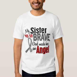 My Sister Is An Angel 1 Brain Cancer Tee Shirt