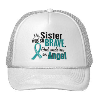 My Sister Is An Angel 1 Ovarian Cancer Hats