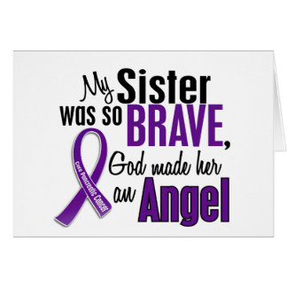 My Sister Is An Angel Pancreatic Cancer Cards