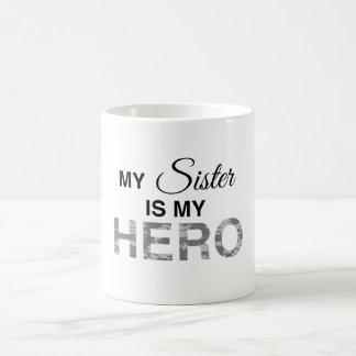 My Sister is my Hero Digital Camouflage Coffee Mug