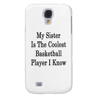 My Sister Is The Coolest Basketball Player I Know Samsung Galaxy S4 Cases