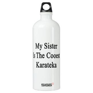 My Sister Is The Coolest Karateka SIGG Traveler 1.0L Water Bottle