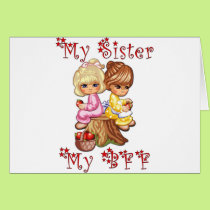 My Sister My BFF Card