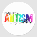 My Sister My Hero - Autism Stickers