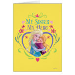 My Sister My Hero Greeting Card