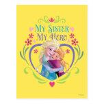 My Sister My Hero Postcard