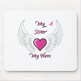 My Sister My Hero Wings and Heart 2 Mousepad