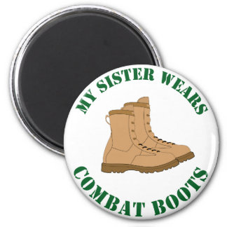 My Sister Wears Combat Boots - Magnet