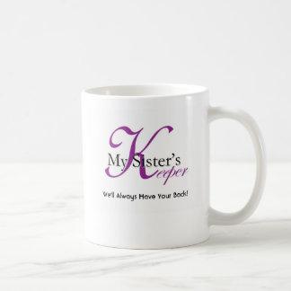 My Sister's Keeper Logo Items Coffee Mug