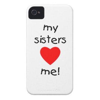 My Sisters Love Me iPhone 4 Case-Mate Cases