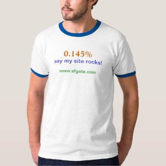 My site rocks! T-Shirt