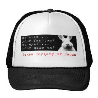 My Skin in English - Vegan Society Mesh Hats