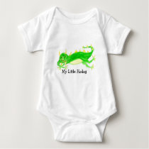 My Sleepy Little Hodag design Baby Bodysuit