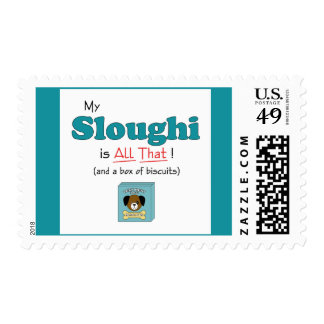 My Sloughi is All That! Postage