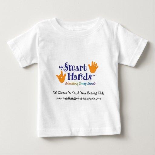 MY_Smart_hands_logo_1 [1], ASL clasifica para T Shirts