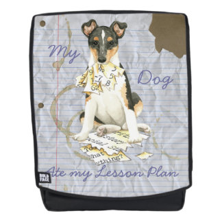My Smooth Collie Ate my Lesson Plan Backpack