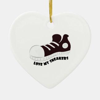 My Sneakers Ceramic Ornament