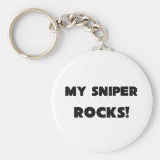 MY Sniper ROCKS! Basic Round Button Keychain