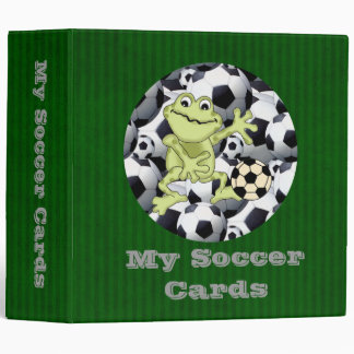 My Soccer Cards Binder
