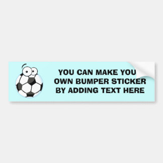 My Soccer Face T-shirts and Gifts Bumper Sticker