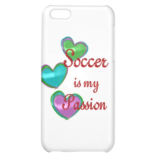 My Soccer Passion Case For iPhone 5C