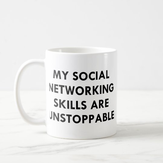 My Social Networking Coffee Mug