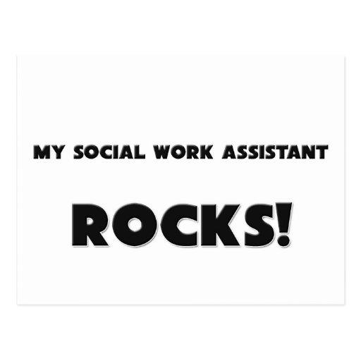 MY Social Work Assistant ROCKS! Postcards