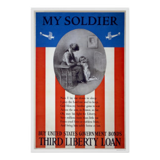 My soldier - Buy United States government bonds Poster