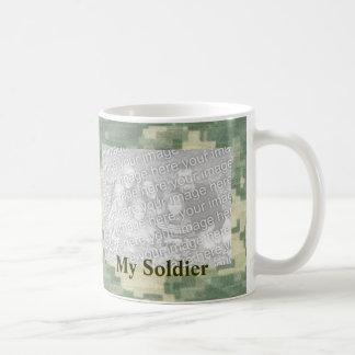 My Soldier Custom Personalized Military Classic White Coffee Mug