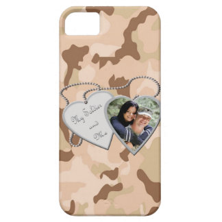 My Soldier & Me (Brown Camo) IPhone 5 Case