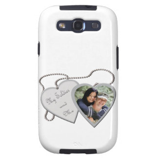 My Soldier Me Hearts Custom Photo Galazy S Case Samsung Galaxy S3 Covers