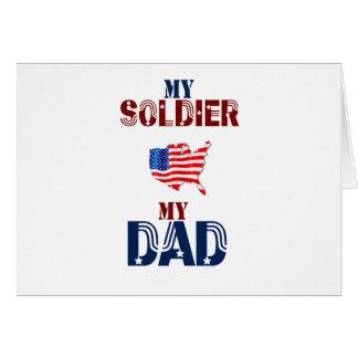 My Soldier My Dad  11 Card