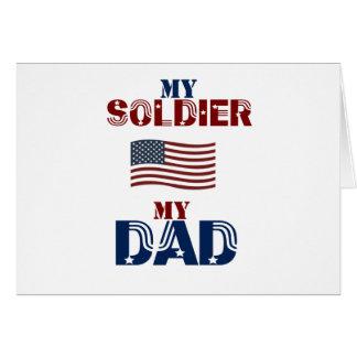 My Soldier My Dad 13 Card