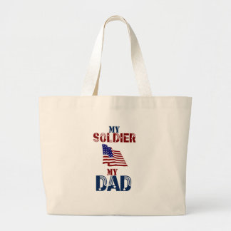 My Soldier My Dad 33 Tote Bag