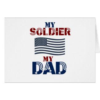 My Soldier My Dad 3 Card