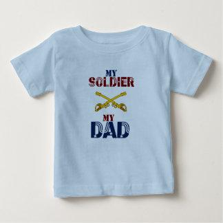 My Soldier My Dad Cav Baby T-Shirt
