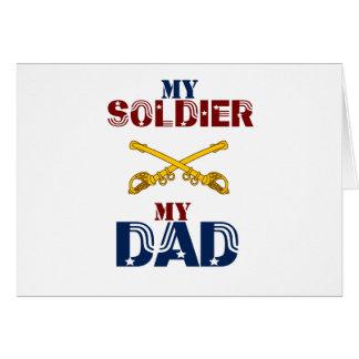 My Soldier My Dad Cav Card