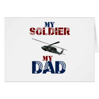 My Soldier My Dad Hellacopter Card