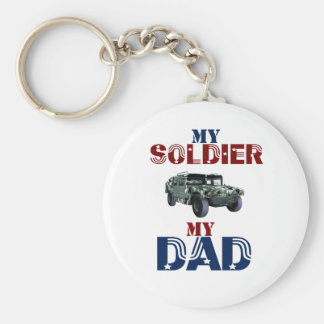 My Soldier My Dad Hummer Key Chains