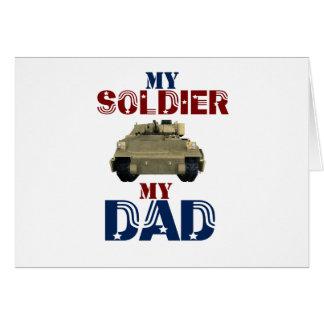 My Soldier My Dad Tank2 Card