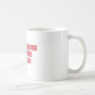 My Soldier, My Hero, My Son Classic White Coffee Mug