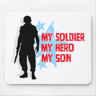 My Soldier, My Hero, My Son Mouse Pad