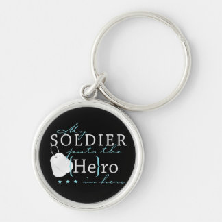 My Soldier puts the He in Hero Keychain