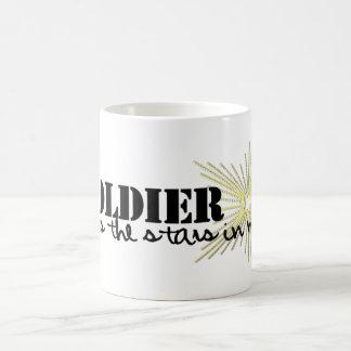 My Soldier puts the stars in my sky! Coffee Mug