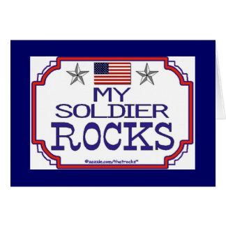 My Soldier Rocks Card