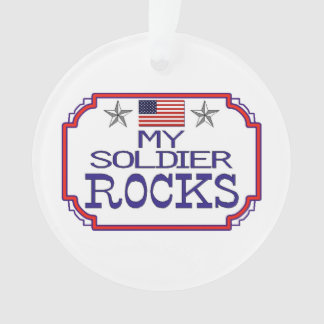 My Soldier Rocks Ornament